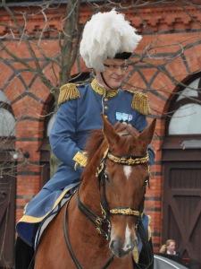 Mertil Melin vid ett statsbesök 2011.