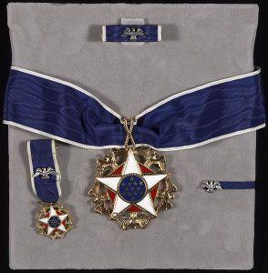 Frihetsmedaljen set